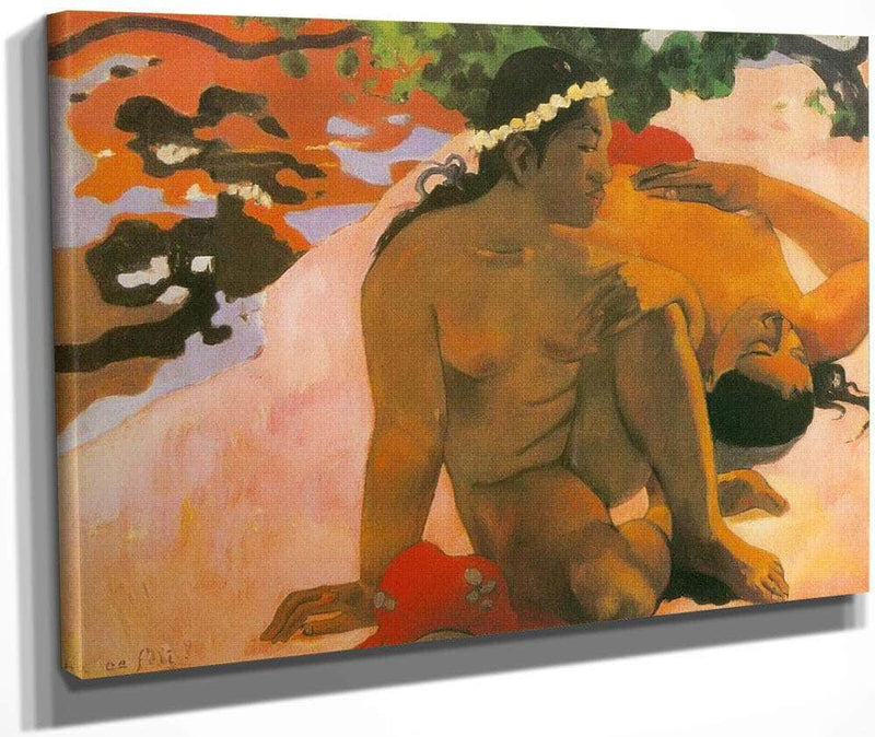 Aha Oe Feii ( What  Are You Jealous) By Paul Gauguin