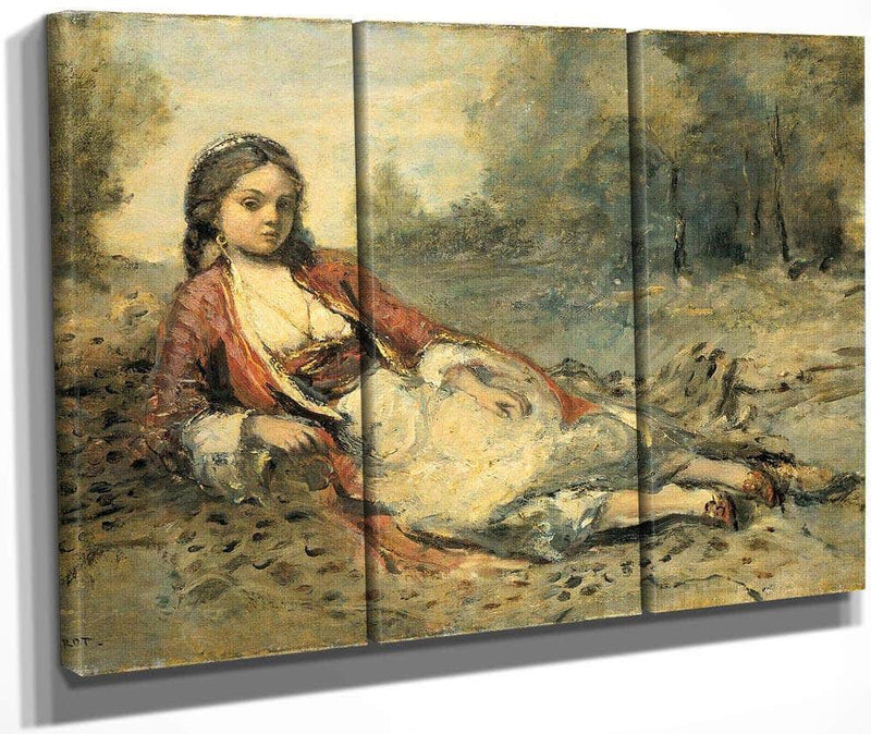 Algerienne By Camille Corot