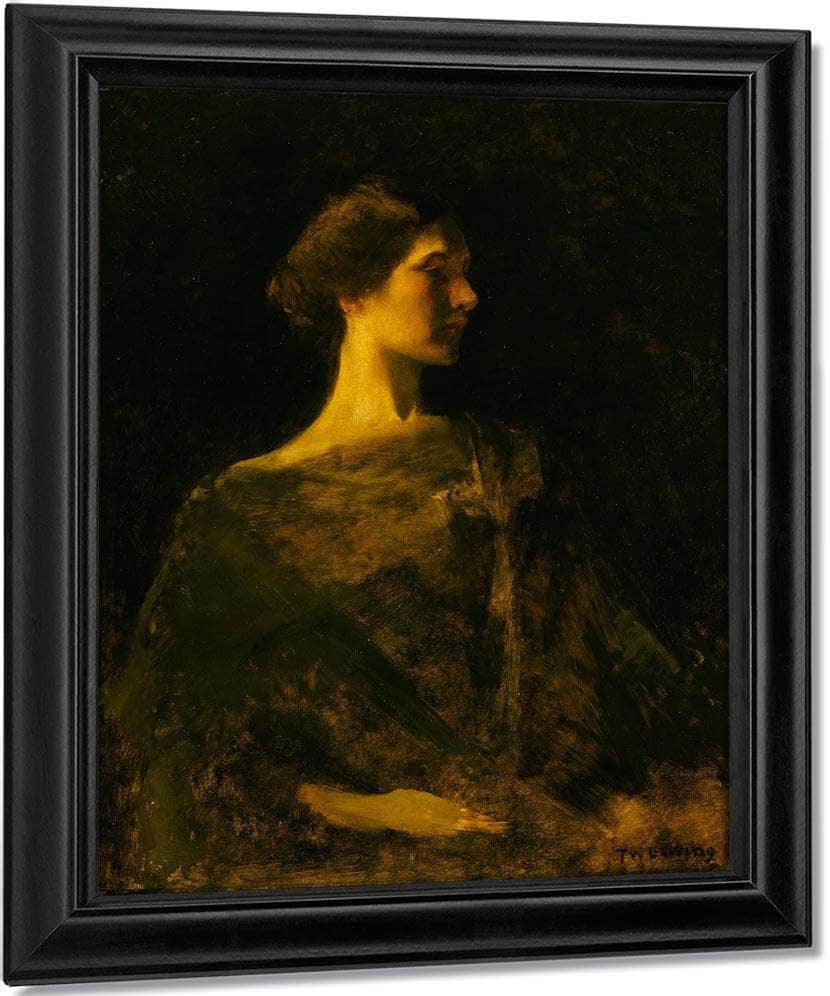 Alma By Thomas Wilmer Dewing