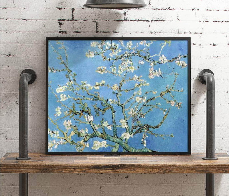 Almond Blossom Painting Vincent Van Gogh Canvas Art