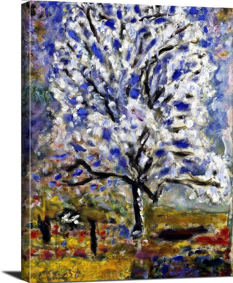Almond Tree Blossom Painting Pierre Bonnard Canvas Art