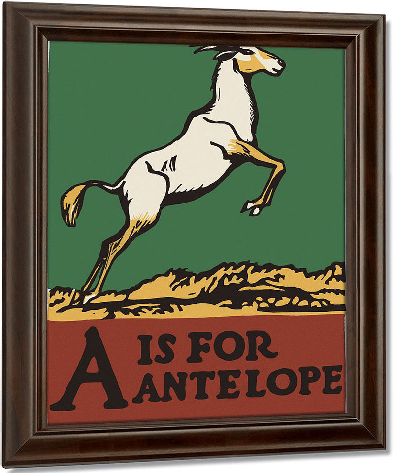 Alphabet  A Is For Antelope By C.B. Falls