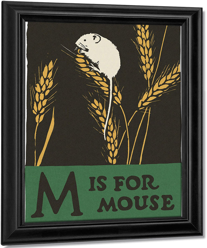 Alphabet  M Is For Mouse By C.B. Falls