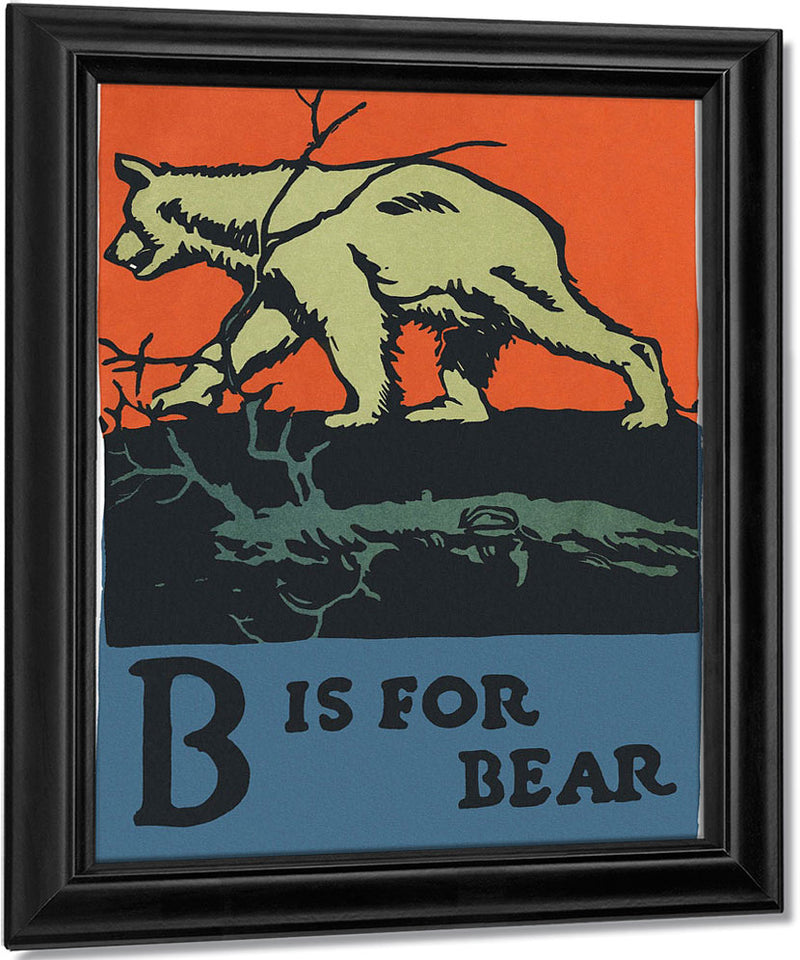 Alphabet B Is For Bear By C.B. Falls