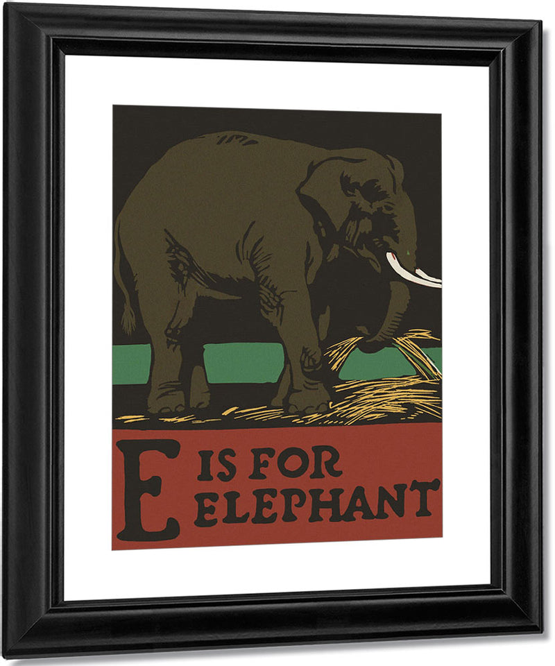 Alphabet E Is For Elephant By C.B. Falls