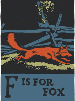Alphabet F Is For Fox By C.B. Falls