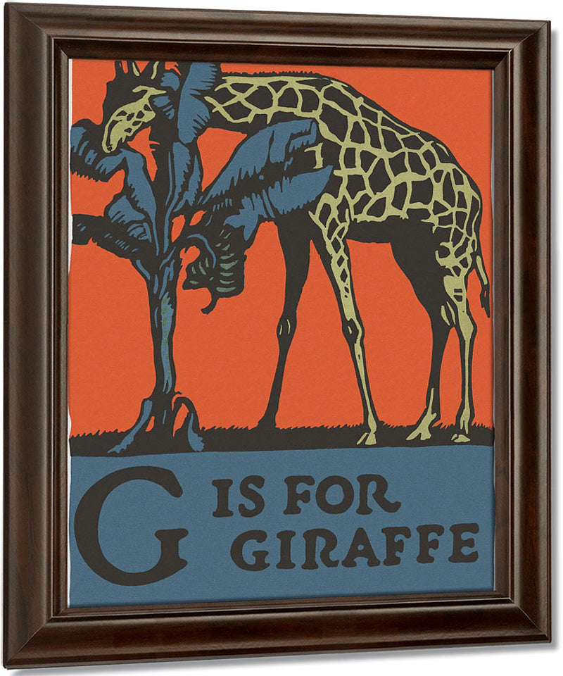 Alphabet G Is For Giraffe By C.B. Falls