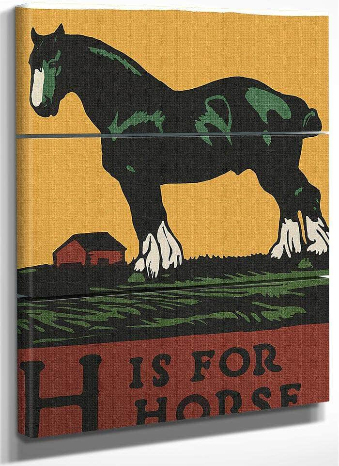 Alphabet H Is For Horse By C.B. Falls