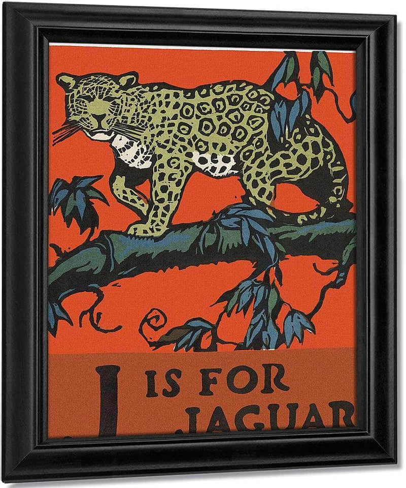 Alphabet J Is For Jaguar By C.B. Falls