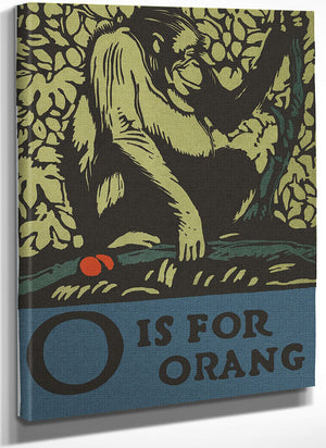 Alphabet O Is For Orangutan By C.B. Falls