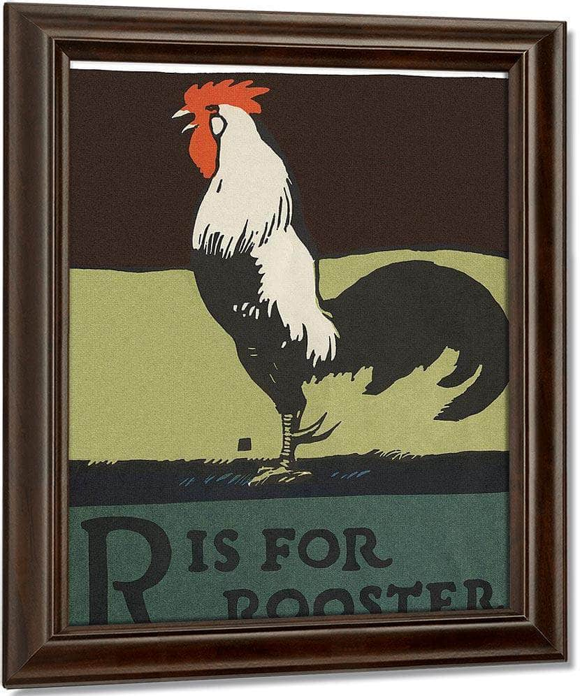 Alphabet R Is For Rooster By C.B. Falls