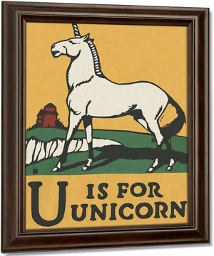 Alphabet U Is For Unicorn By C.B. Falls