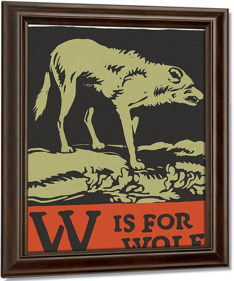 Alphabet W Is For Wolf By C.B. Falls