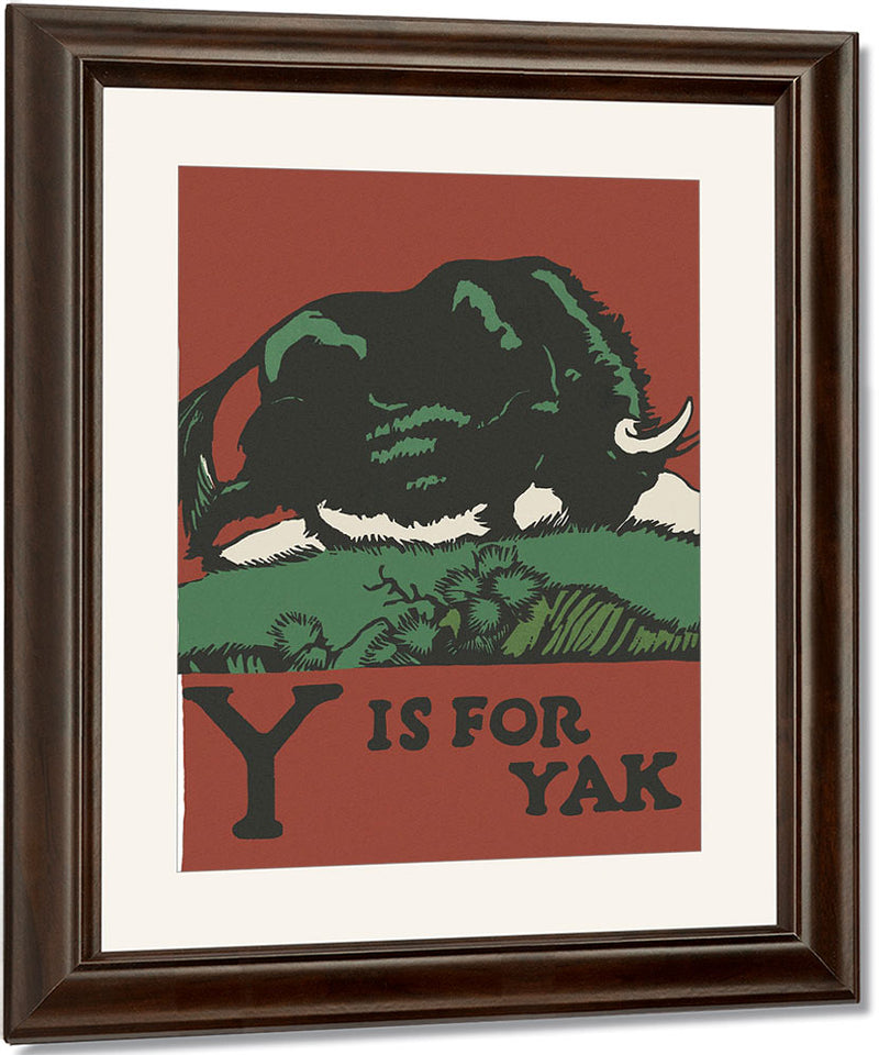 Alphabet Y Is For Yak By C.B. Falls