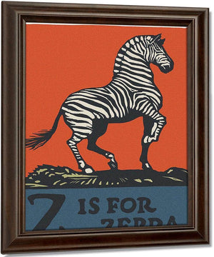 Alphabet Z Is For Zebra By C.B. Falls