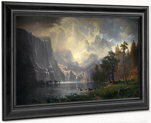 Among The Sierra Nevada, California By Albert Bierstadt