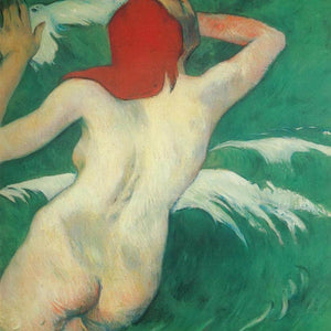Among The Waves ( Ondine) By Paul Gauguin