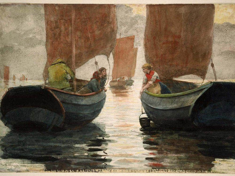 An Afterglow 1883 By Winslow Homer