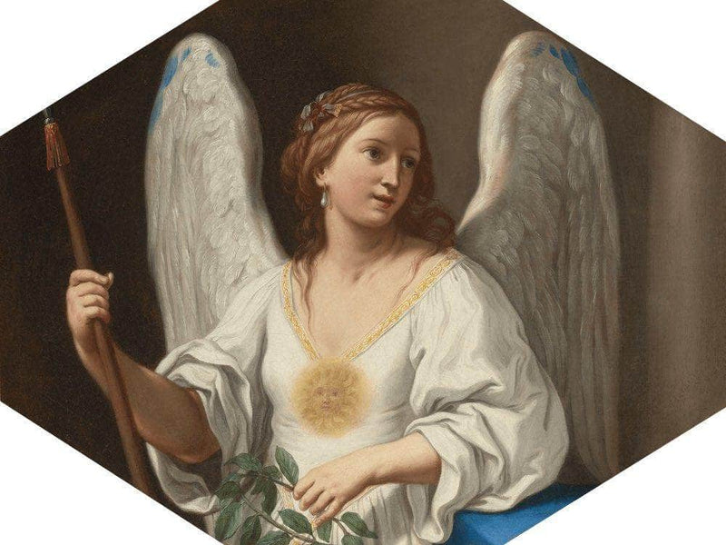 An Allegory Of Virtue 1657 By Elisabetta Sirani