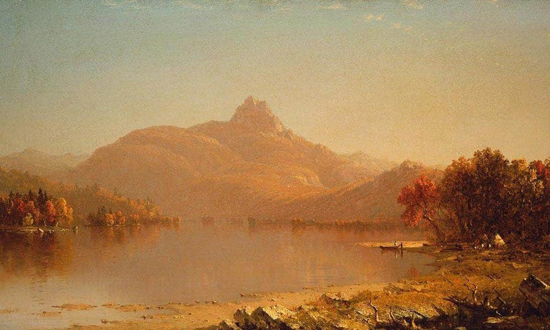 An October Afternoon By Sanford Robinson Gifford