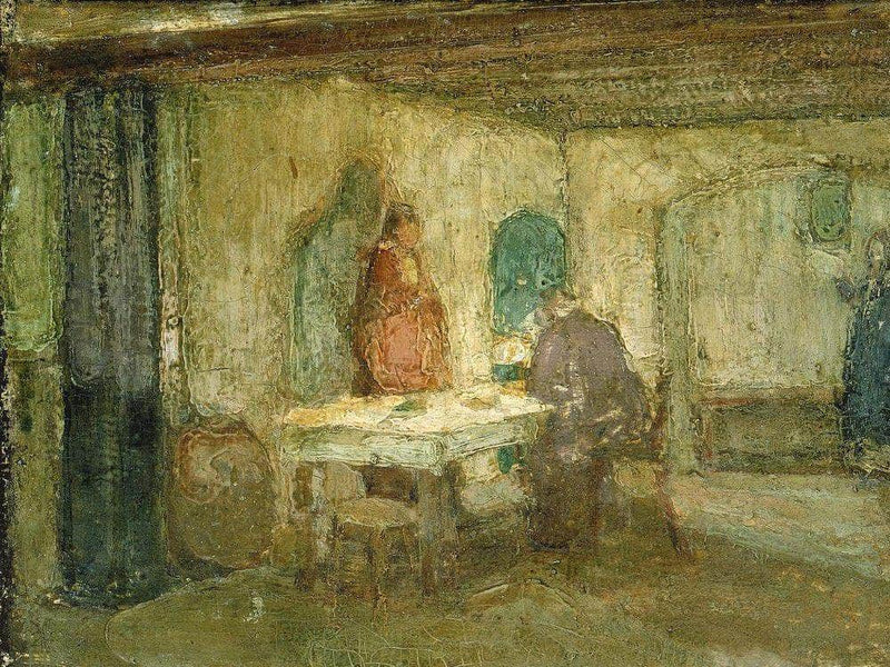 And He Disappeared Out Of Their Sight 1898 By Henry Ossawa Tanner