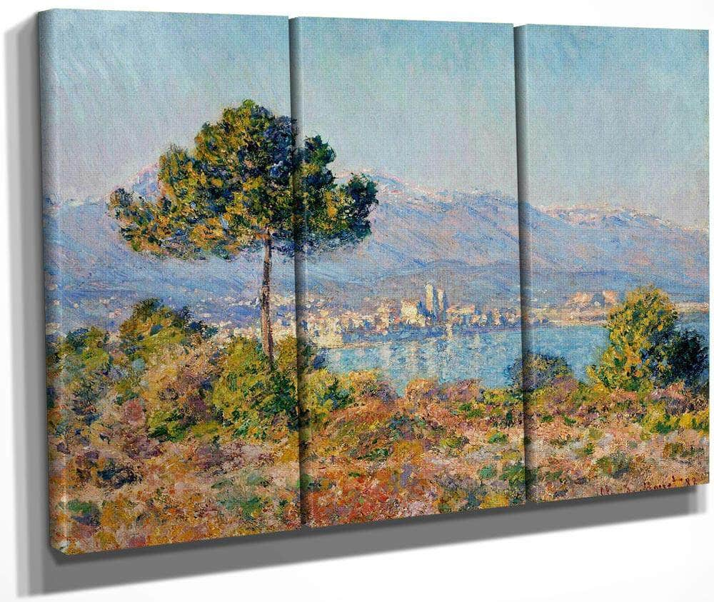 Antibes Seen From The Plateau Notre Dame By Monet Claude