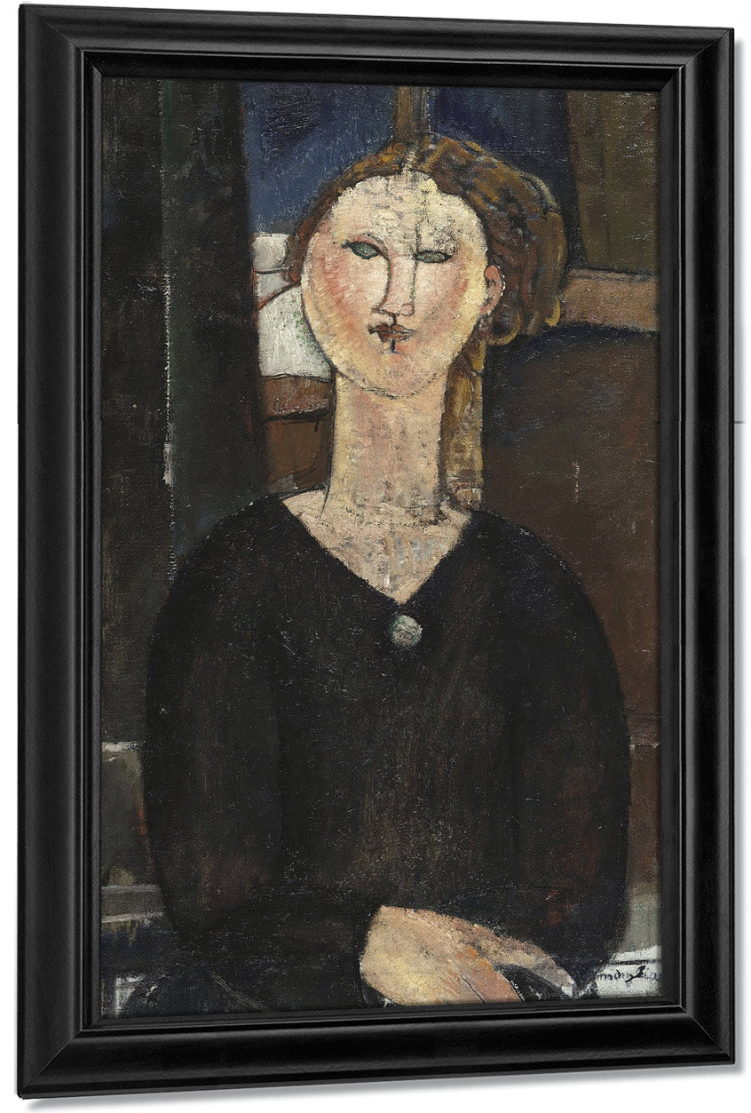 Antoniaa By Amedeo Modigliani