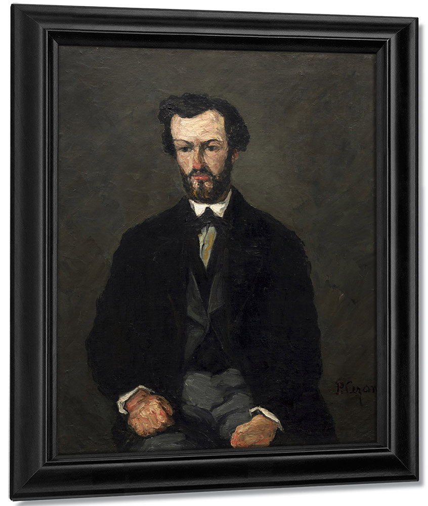 Antony Valabregue By Paul Cezanne