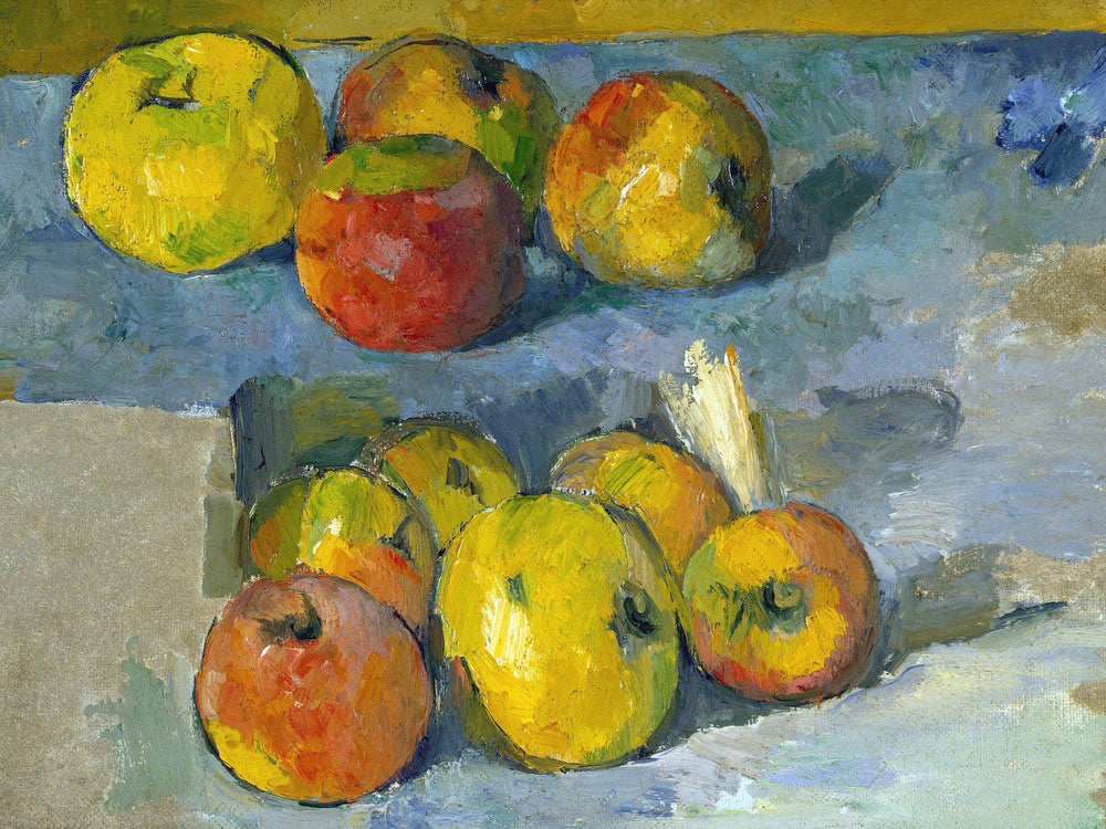 Apples 1 By Paul Cezanne