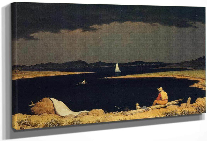 Approaching Thunder Storm By Martin Johnson Heade