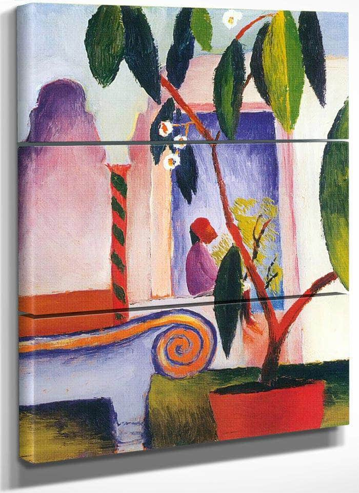 Arab Cafe By August Macke