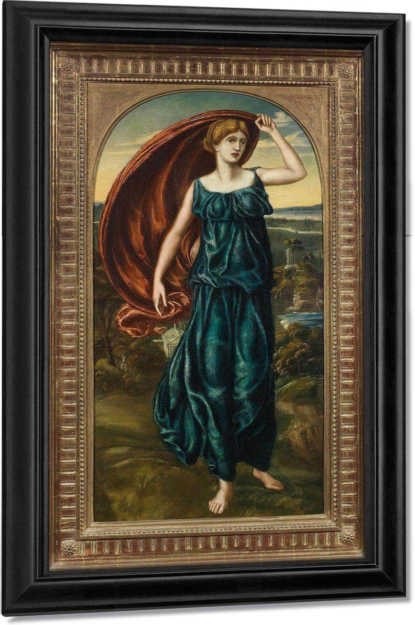 Ariadne At Naxos By William Henry Walker