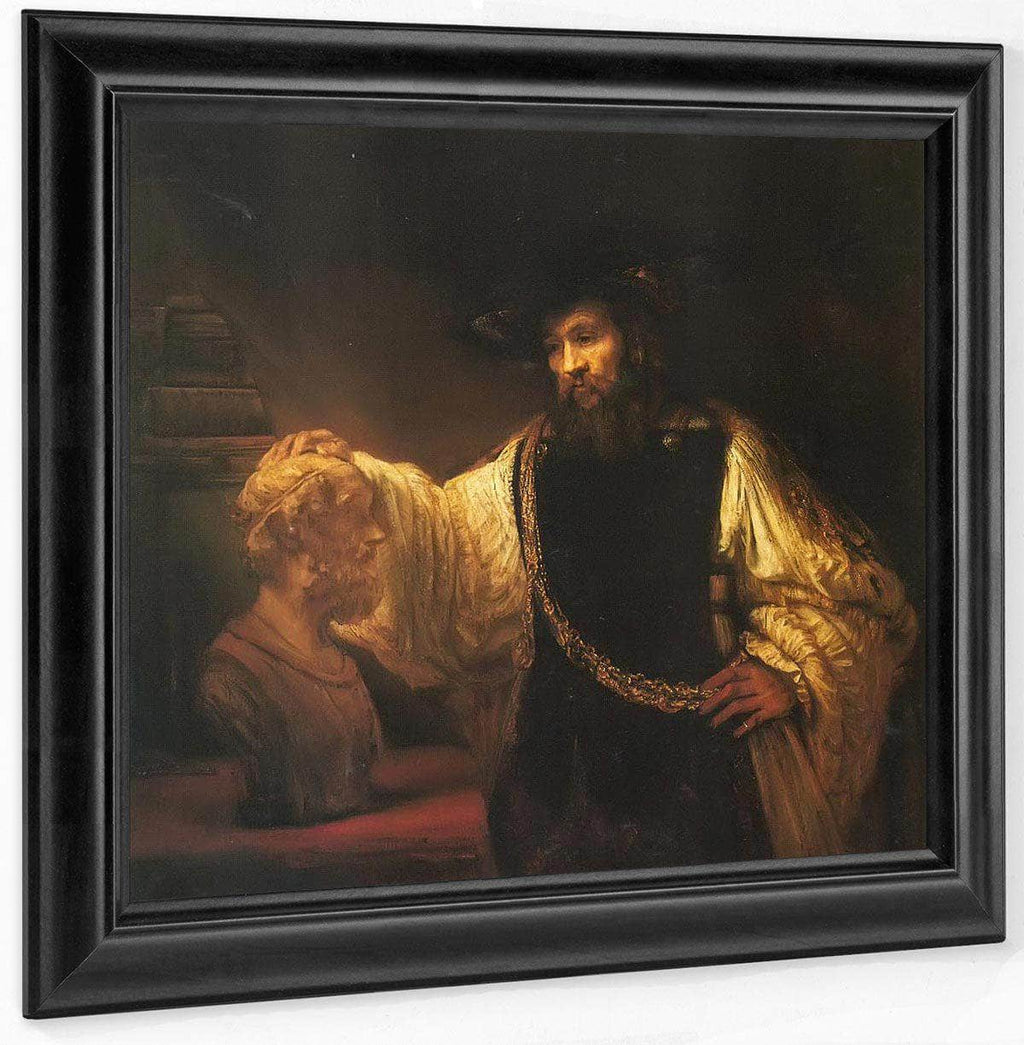 Aristotle Contemplating A Bust Of Homer, 1653 By Rembrandt