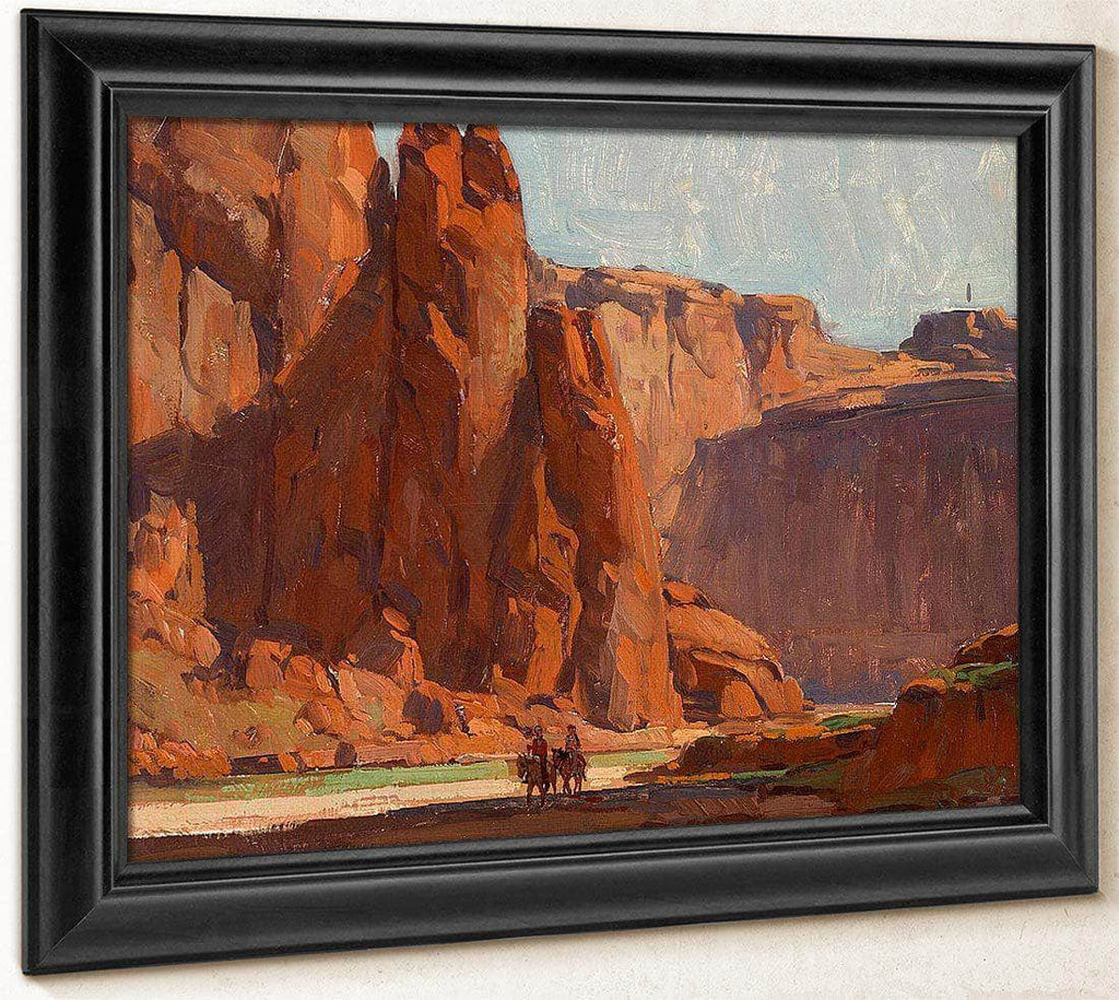 Arizona Canyon (Canyon De Chelly) By Edgar Payne