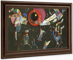Around The Circle By Wassily Kandinsky