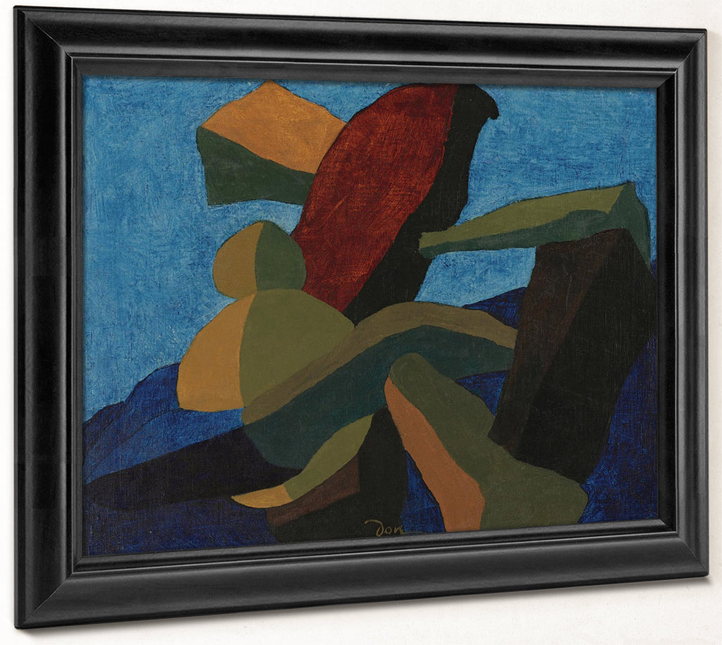 Arrangement In Form I By Arthur Dove