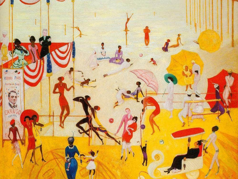 Asbury Park South By Florine Stettheimer