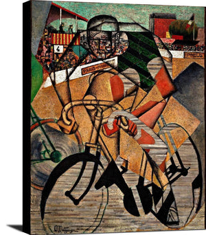 At The Cycle Race Painting Jean Metzinger Canvas Art