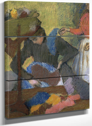 At The Milliner's By Edgar Degas