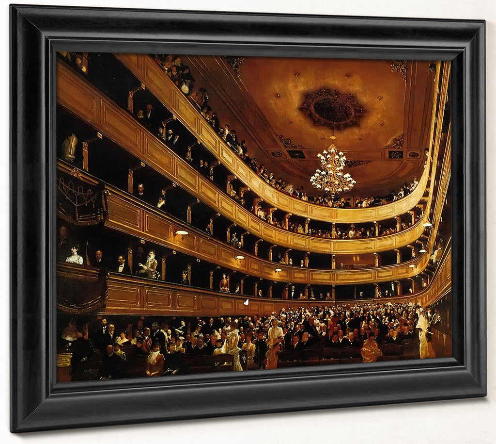 Auditorium Of The Old Burgtheater By Klimt