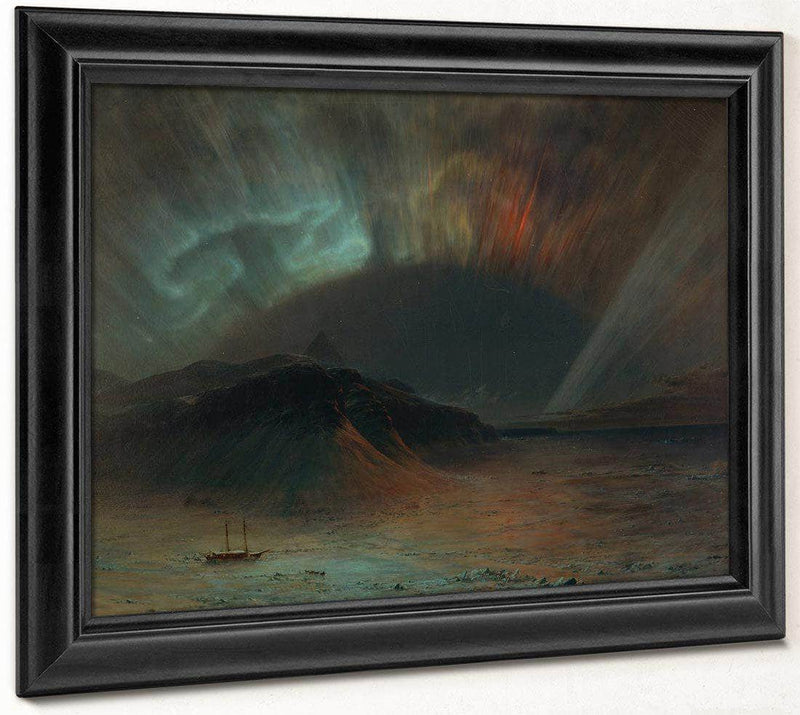 Aurora Borealis 1865 By Frederic Edwin Church