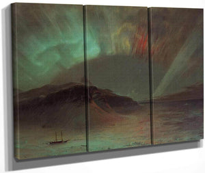 Aurora Borealis By Fredric Edwin Church