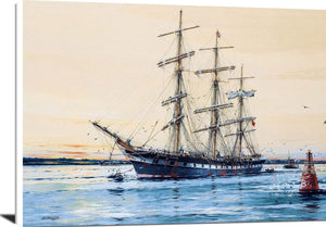 Australian Windjammer Illawara Painting Jack Spurling Canvas Art