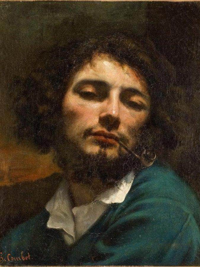 Autoportrait By Gustave Courbet