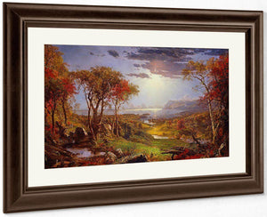 Autumn    On The Hudson River By Cropsey Jasper Francis