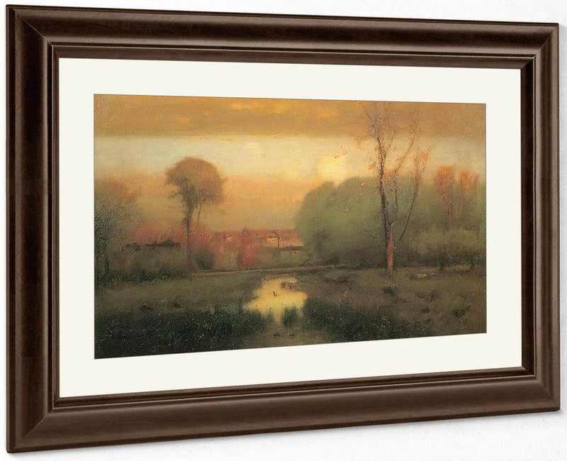 Autumn Gold By George Inness