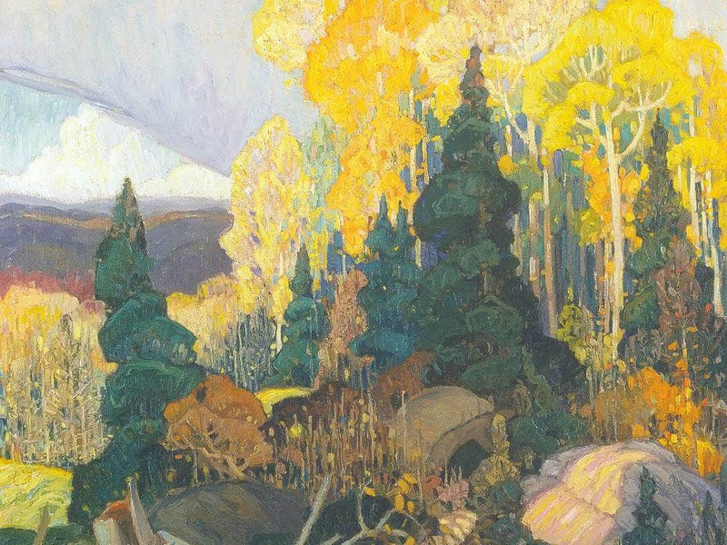 Autumn Hillside By Frank Carmichael