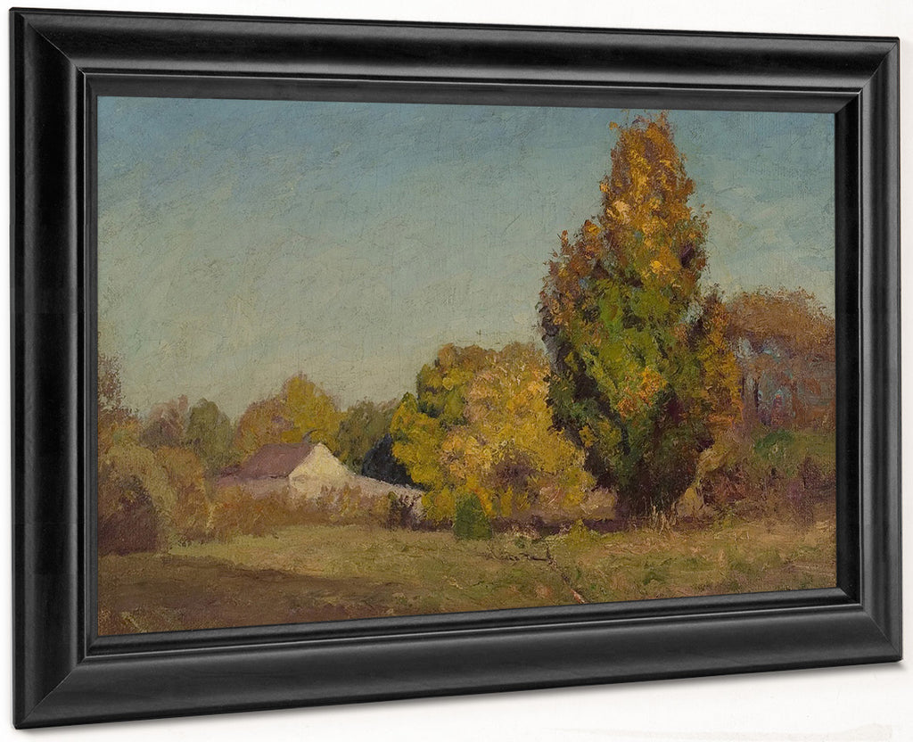 Autumn Scene By Theodore Clement Steele