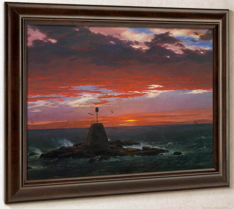 Baacon Off Mount Desert Island By Fredric Edwin Church