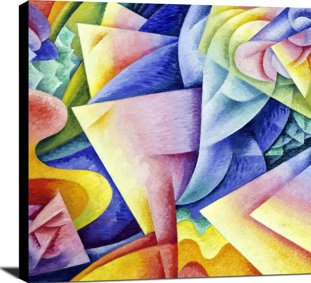 Ballerina Bow Sea Painting Gino Severini Canvas Art